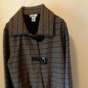 Grey Mirror Image Jacket